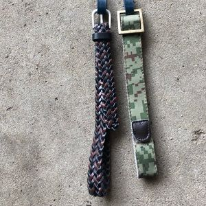 Pack of 2 Child's Belts